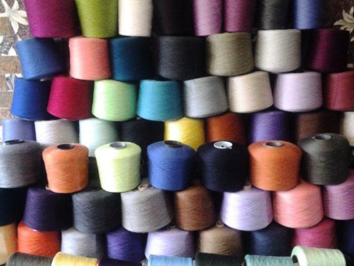 Нитки для машинного вязания