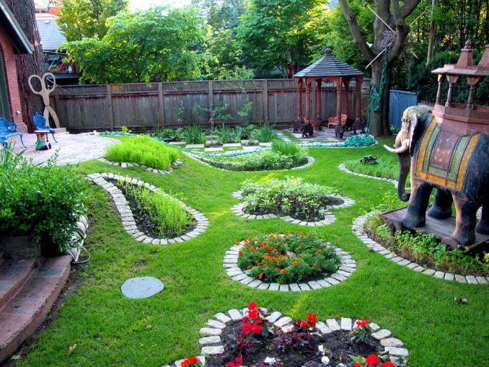 Ландшафтный дизайн для дома своими руками