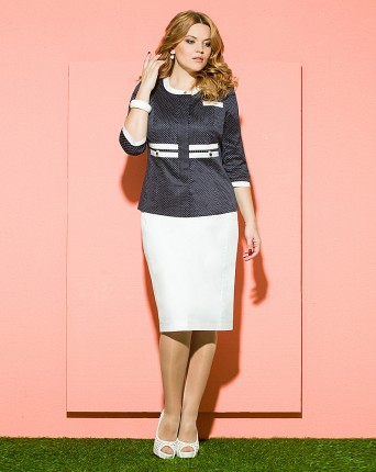Женская нарядная одежда больших размеров купить в