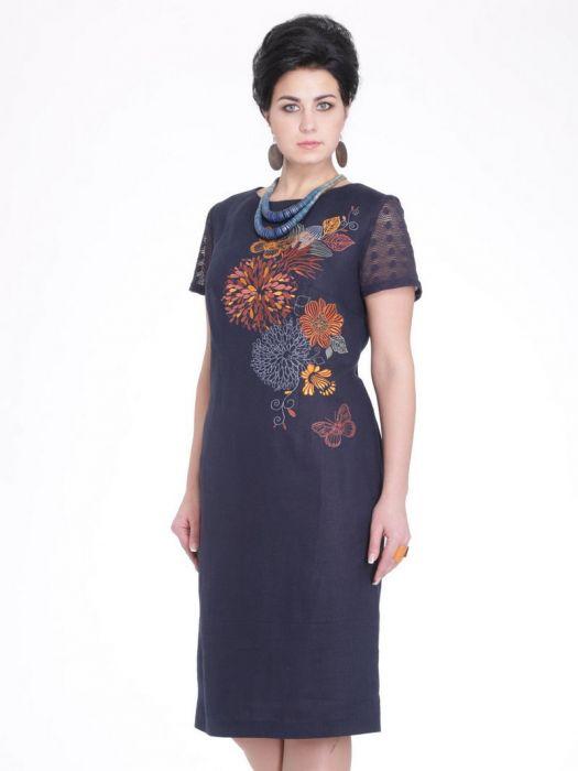 Купить женскую одежду из льна больших размеров