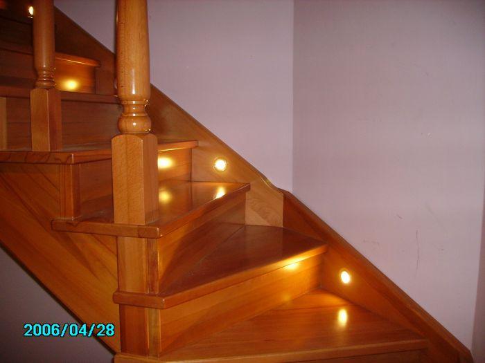 освещение для лестниц фото
