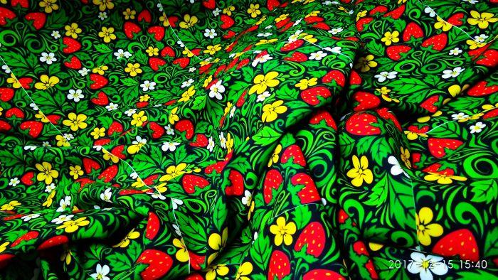 Ткань с рисунком на заказ купить флористическую проволоку