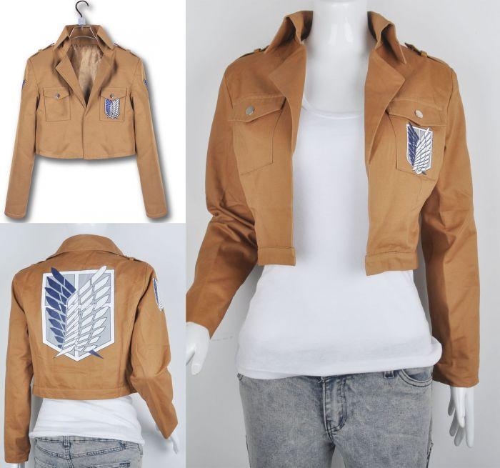 25df0f7b4a5 Заказать одежду и вещи с доставкой. Куртка аниме разведотряд Атака Титанов